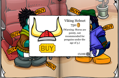 Red Viking Helmet  :)