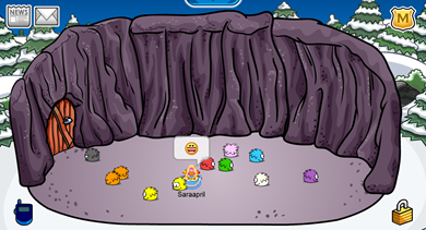 Saraapril's Cave Igloo :)