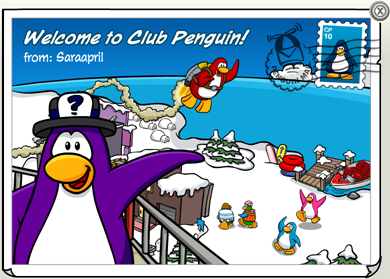 Welcome to Club Penguin :)