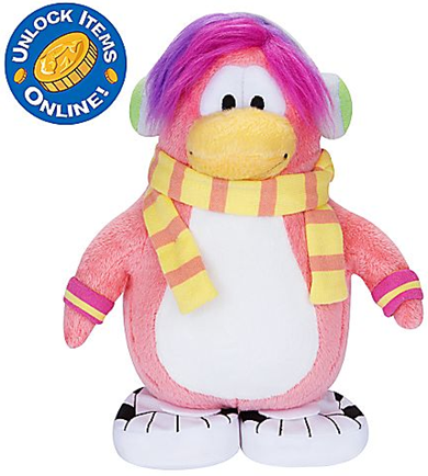 Cadence Penguin Plush Toy