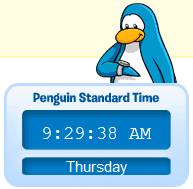 Penguin Standard Time :)