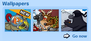 Wallpapers in Club Penguin :)