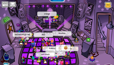 Night Club in Dark Purple :)