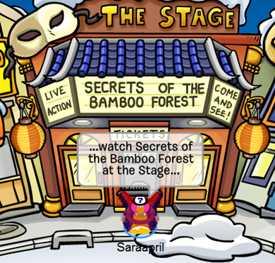 Bamboo Forest Play at The Stage :)