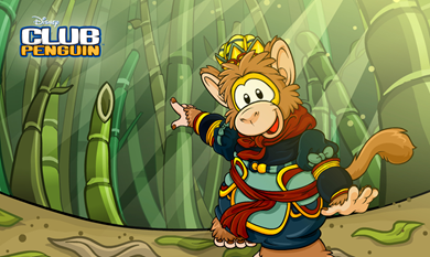 Monkey King in The Bamboo Forest :)