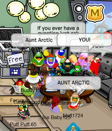 Aunt Arctic Backstage Penguin Play Awards :)