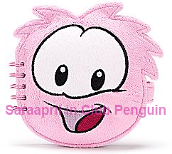 Club Penguin Fluffy Notebook :)
