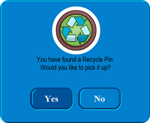 Recycle Pin :)