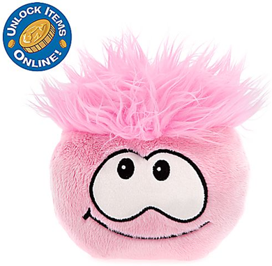 Club Penguin 6'' Pink Pet Puffle :)