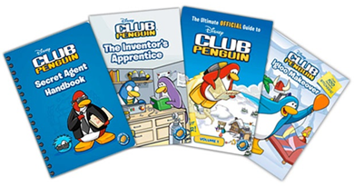 Some of Club Penguin Books
