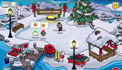 Saraapril in Club Penguin :)