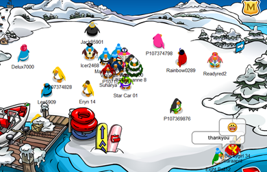 Dock Club Penguin