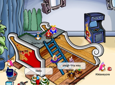 Night Club Club Penguin