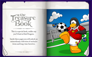 Treasure Book for Serine 6 Club Penguin