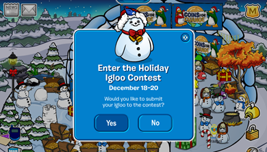 Igloo Contest :)