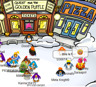 The Plaza Club Penguin