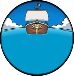 Rockhopper's Ship the Migrator :)
