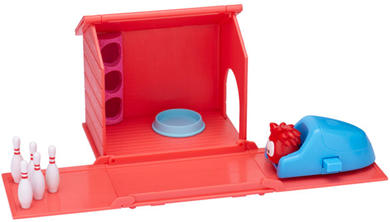 House with Red Puffle Playset :)