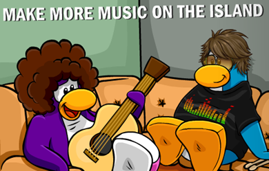Music Jam Party Club Penguin 2010 :)