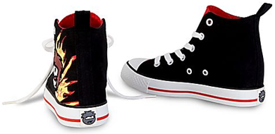 High Top Club Penguin Sneakers for Boys:)