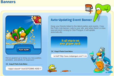 Club Penguin Banners :)