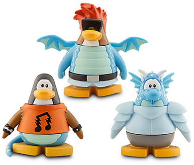 Club Penguin 8 Pack Assortment - 2'' Mix 'N Match Figures :)
