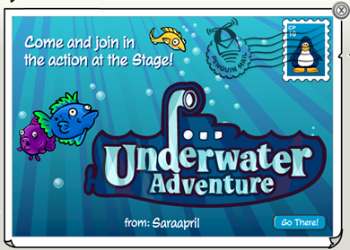 Underwater Adventure Postcard :)
