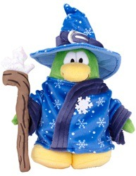 Plush Penguin Series 9 Blizard Wizard :)