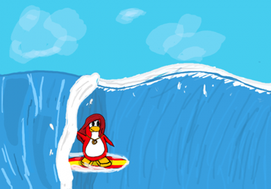 FAN Club Penguin Art :)