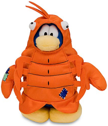 Plush Penguin Series 9 - Lobster :)