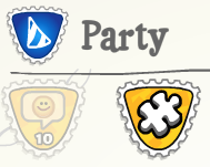 Party Puzzle Stamp :)