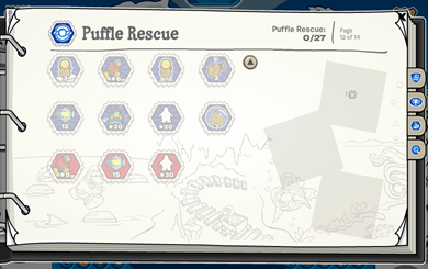 Puffle Rescue Stamps :)