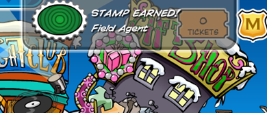 Field Agent Stamp Earned :)