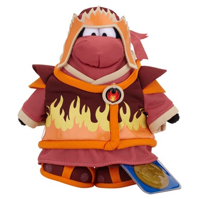 Club Penguin Series 10 Fire Ninja :)