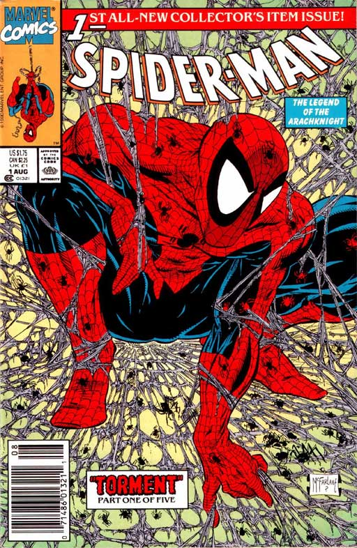 Homages to Todd McFarlane's Spider-Man #1