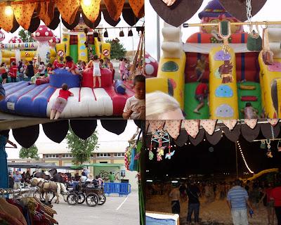 Fiesta de la comunidad de vecinos de la Vaguada, Cartagena.