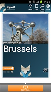 Brussels Travel Guide - screenshot thumbnail