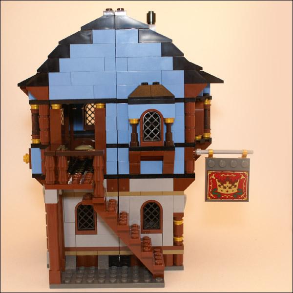 lego medieval market village instructions