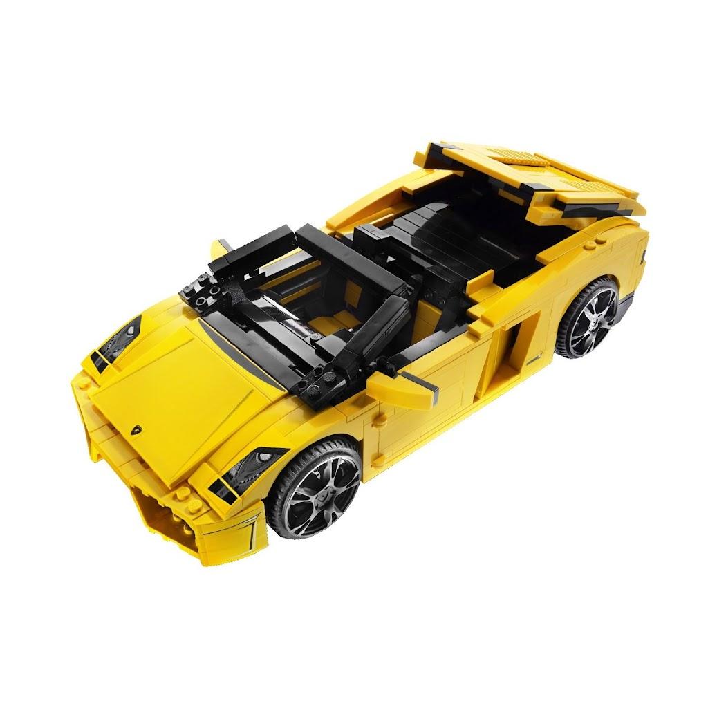 bricker construction toy by lego 8169 lamborghini gallardo lp 560 4. Black Bedroom Furniture Sets. Home Design Ideas