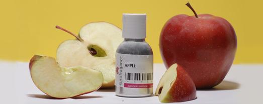 аромат яблока, зеленое яблоко