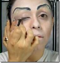Maquillaje de bruja muy fácil