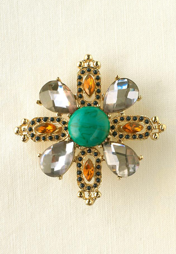 fall maltese brooch