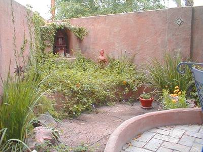 Monastery Garden wall