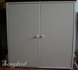 Cupboard makeover before