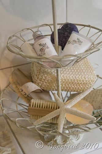 Three tired basket in bathroom2