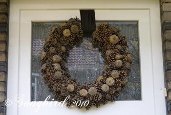 Pine Cone Wreath 1