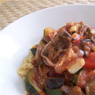 Barbecued Vegetables with Couscous Recipe