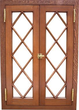 Wood Diamond Divided Lite Windows Doors