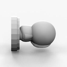 South Park Pawn 3D Print