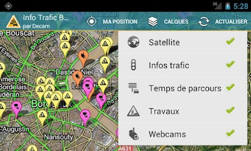 Info Trafic Bordeaux screenshot 0